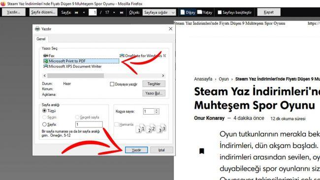 Firefox Pdf Kaydetme