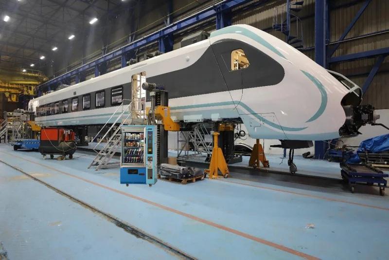 İlk Yerli Elektrikli Tren, Test Sürüşüne Başlıyor