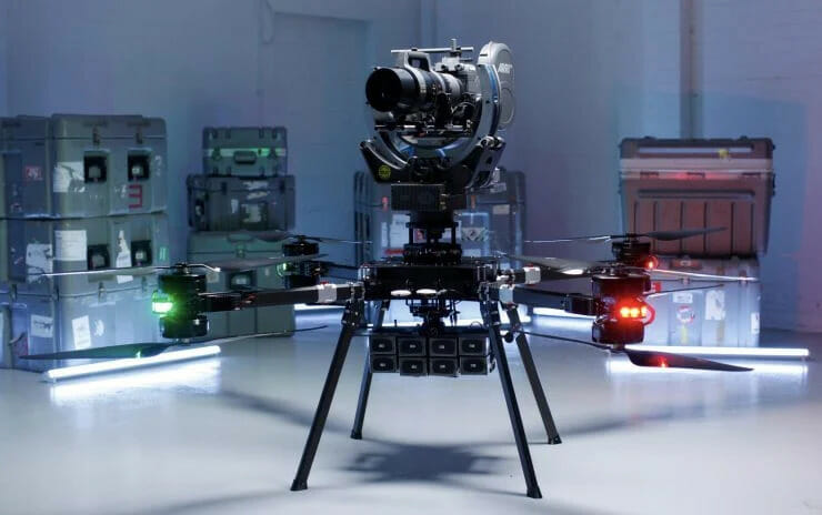 Bir İnsanı Uçurabilen Dünyanın En Güçlü Drone 'u: Ultra