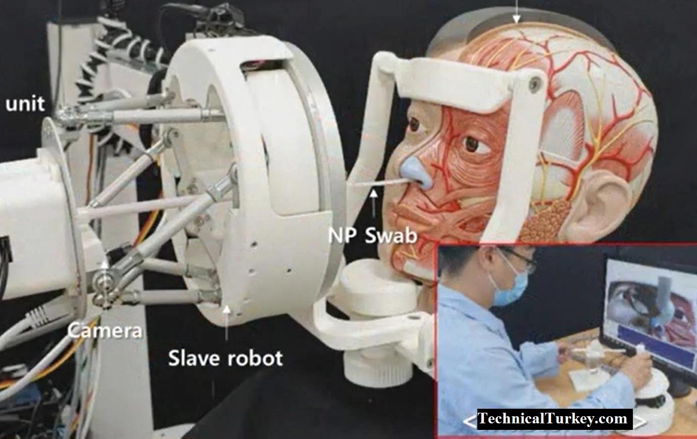 Araştırmacılar, Koronavirüs Hastalarından Örnek Almada Kullanılacak Bir Robot Geliştirdi